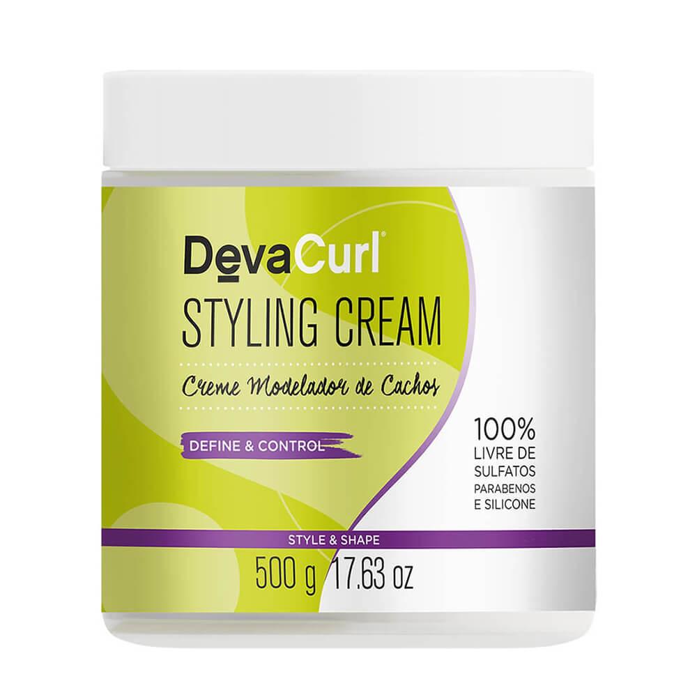 DevaCurl Creme Modelador de Cachos Styling Cream - 500g