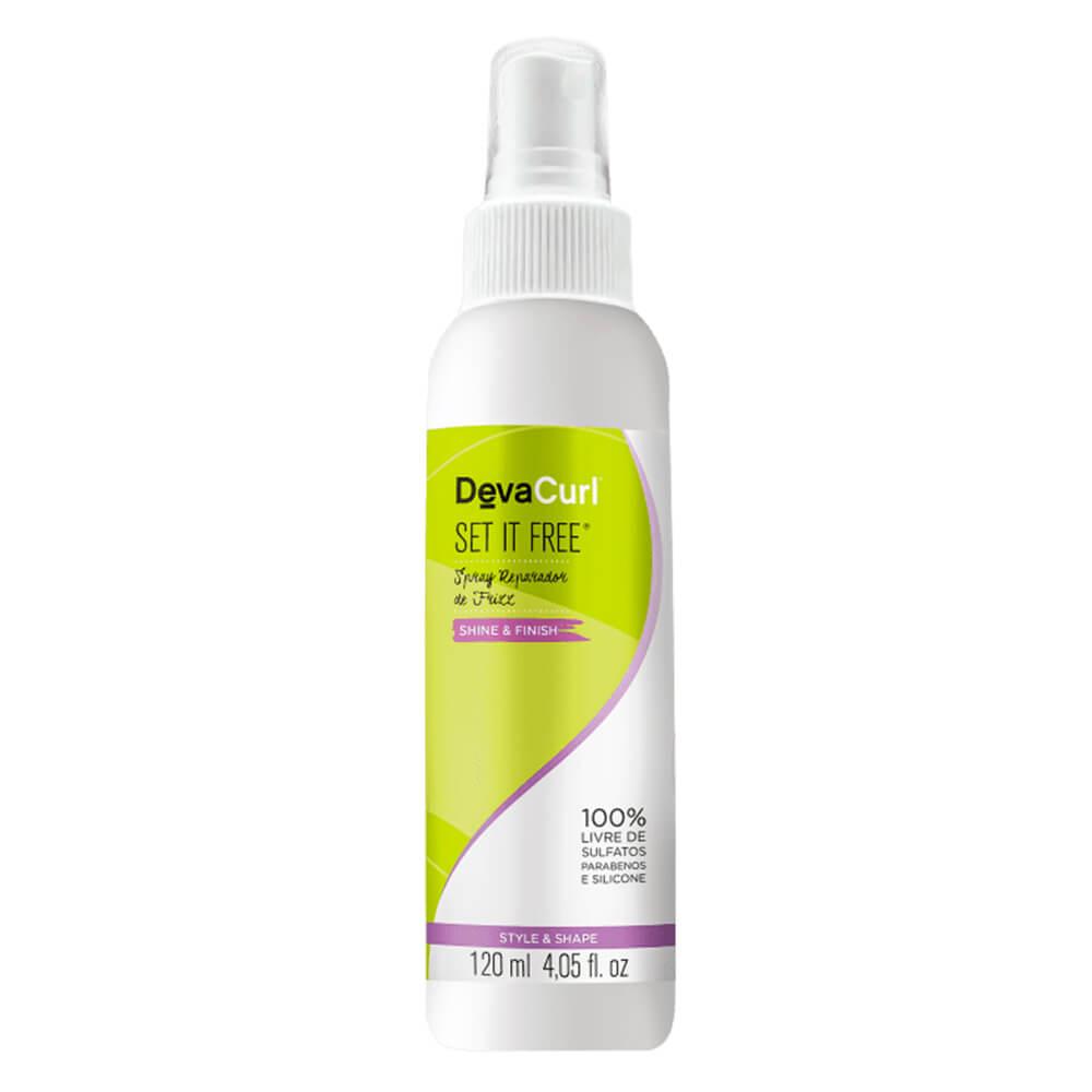DevaCurl Spray Reparador de Frizz Set It Free - 120ml