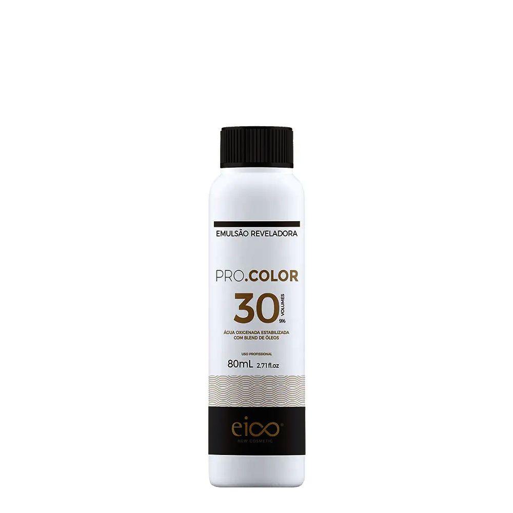 Eico Água Oxigenada Pro.Color 30vol / 9% - 80ml