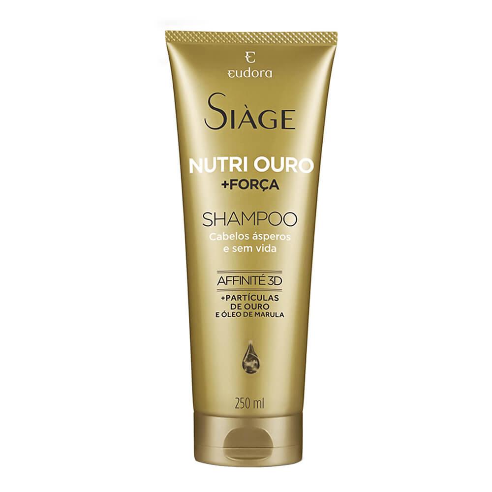 Eudora Shampoo Nutri Ouro Siage - 250ml