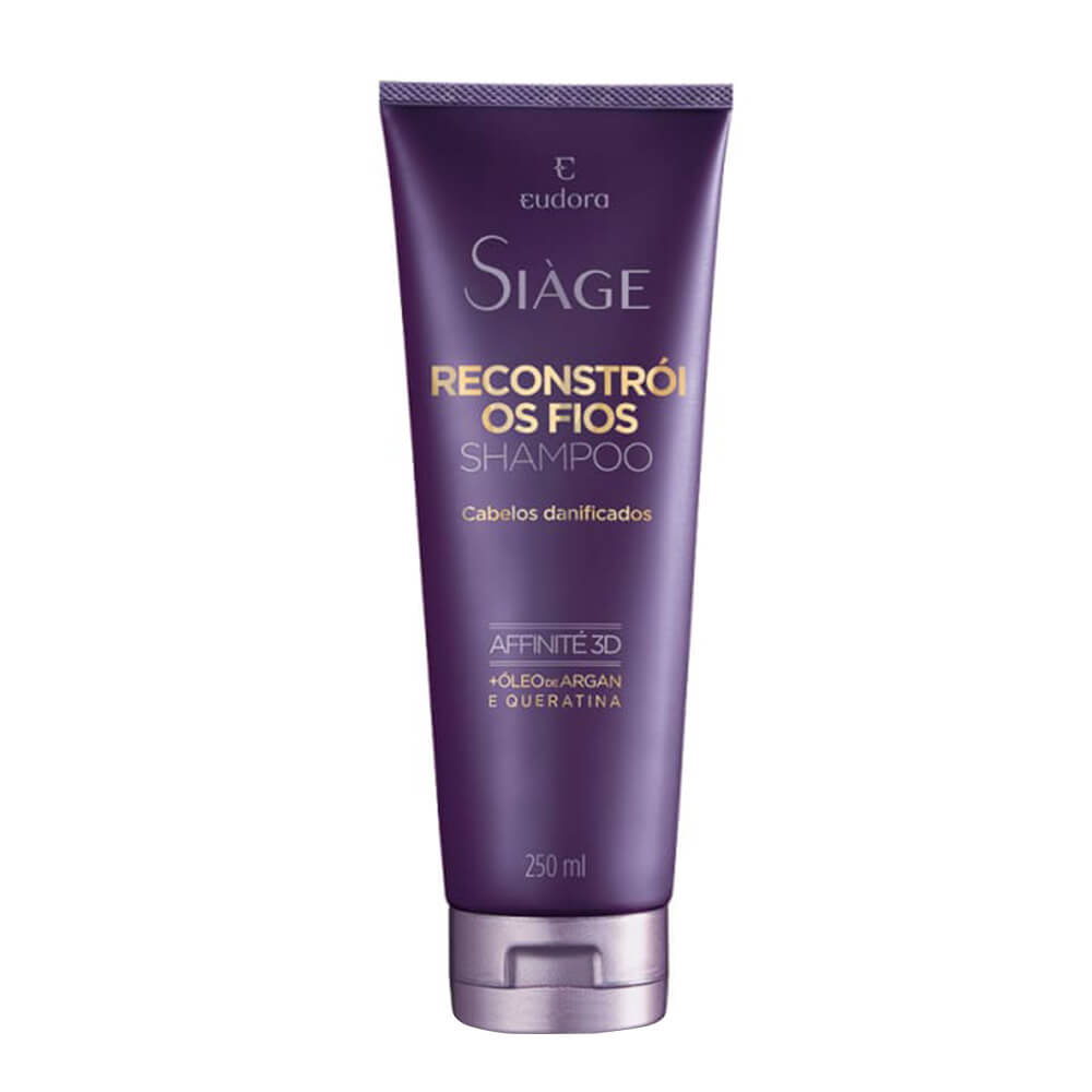 Eudora Shampoo Reconstrói Os Fios Siage - 250ml
