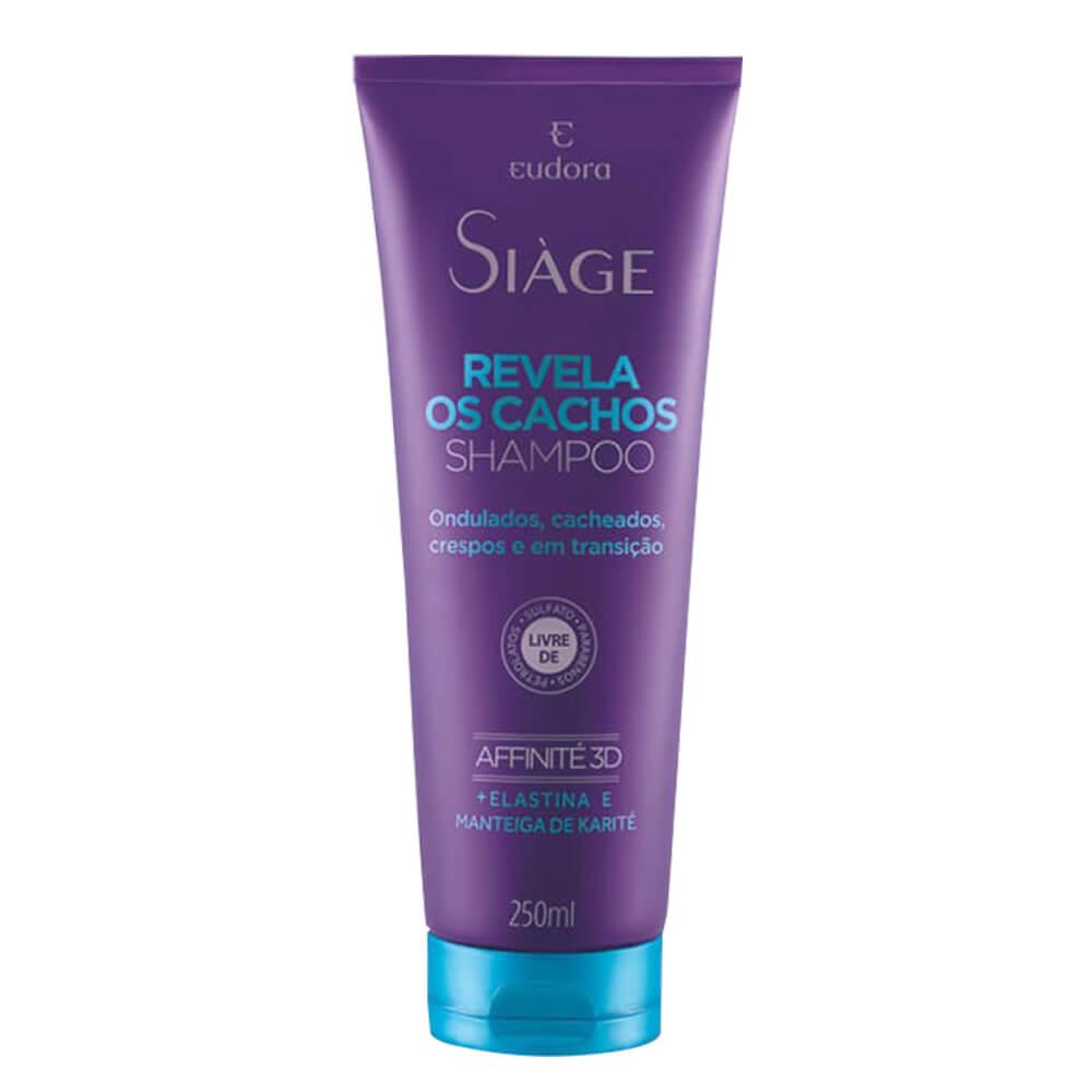Eudora Shampoo Revela Os Cachos Siage - 250ml