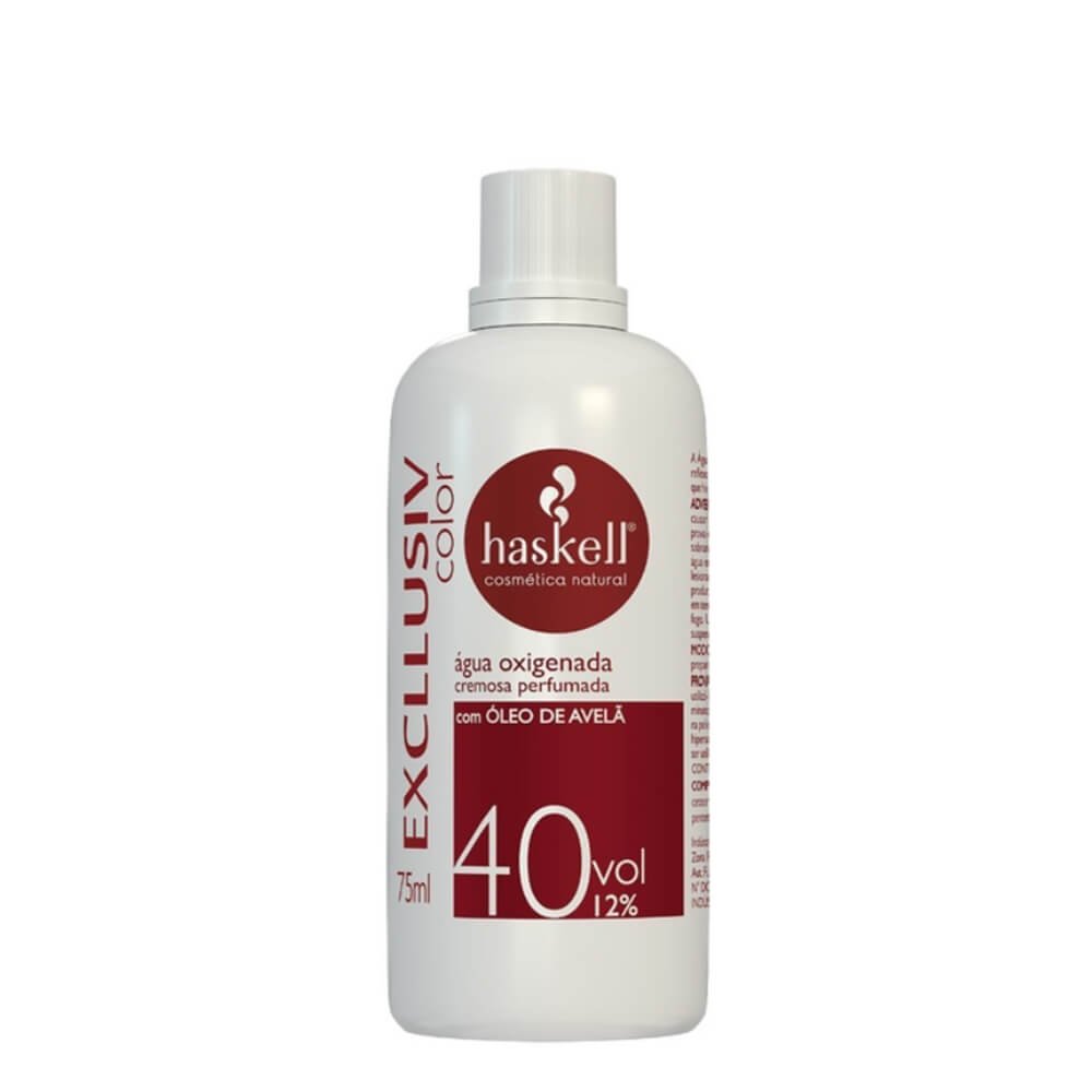 Haskell Água Oxigenada Excllusiv Color 40vol 12% - 75ml