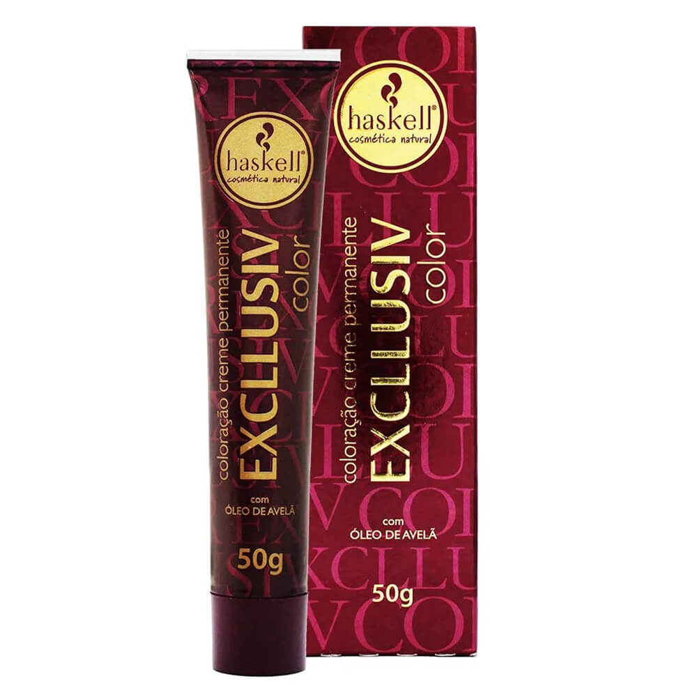 Haskell Excllusiv Color 6.66 Louro Escuro Vermelho Intenso - 50g