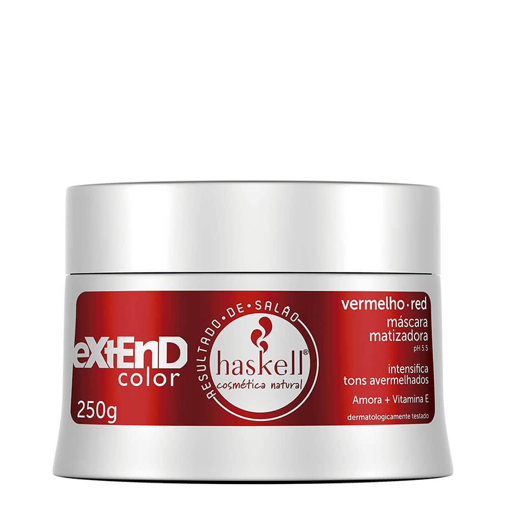 Haskell Mascara Matizadora Vermelho/Red - 250g