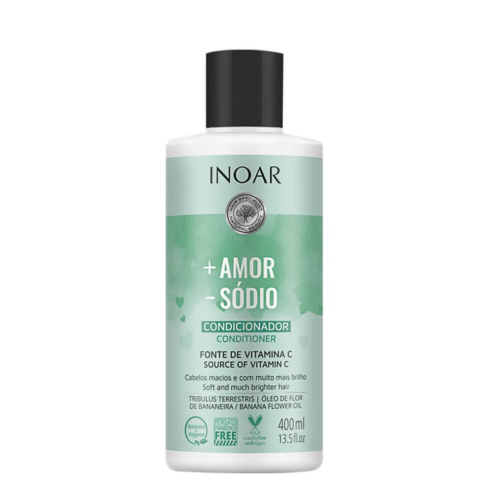 Inoar Condicionador Mais Amor Menos Sódio - 400ml