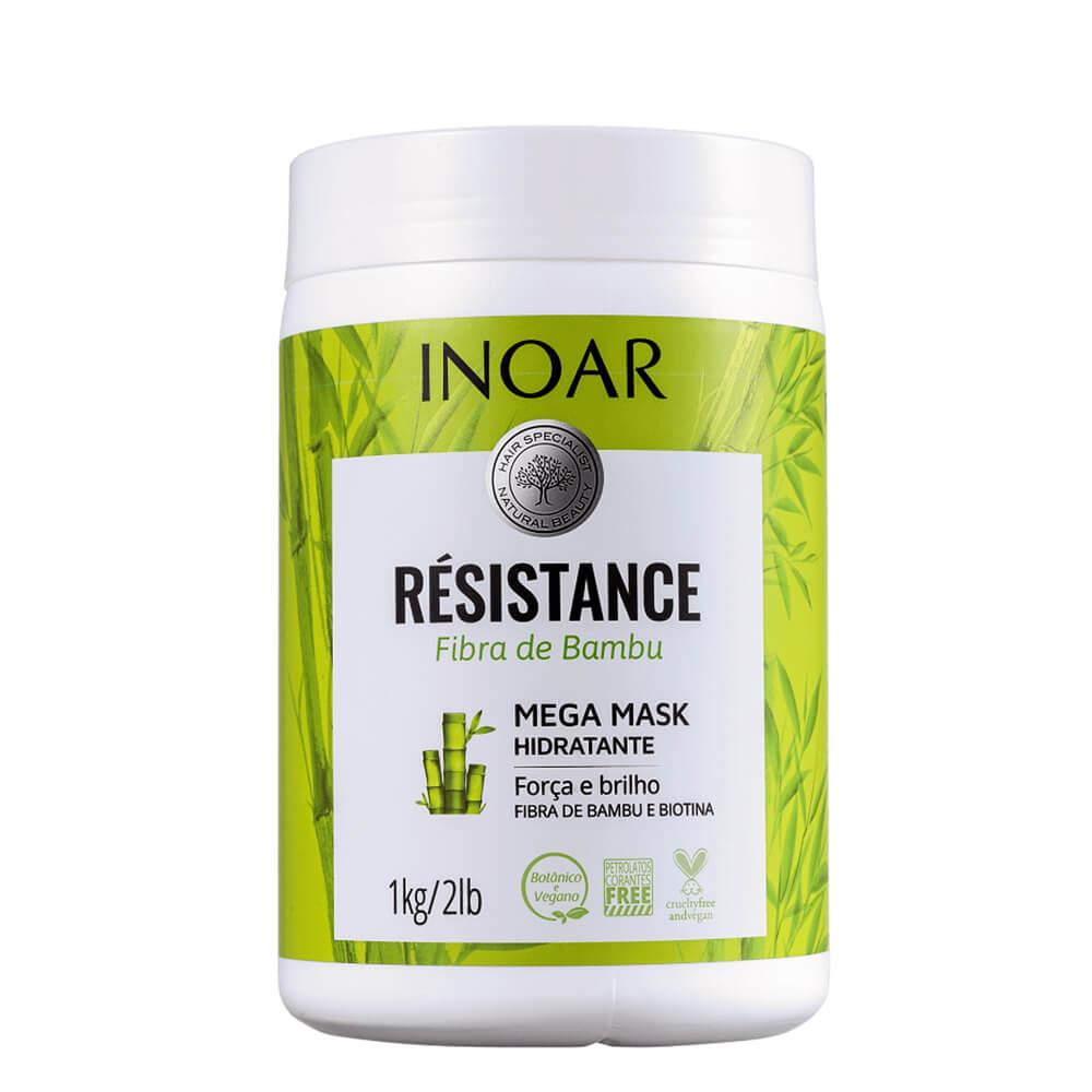 Inoar Máscara Résistance Fibra de Bambu - 1000g