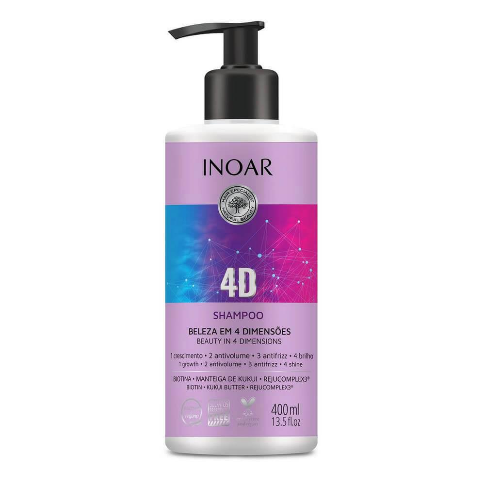 Inoar Shampoo 4D - 400ml
