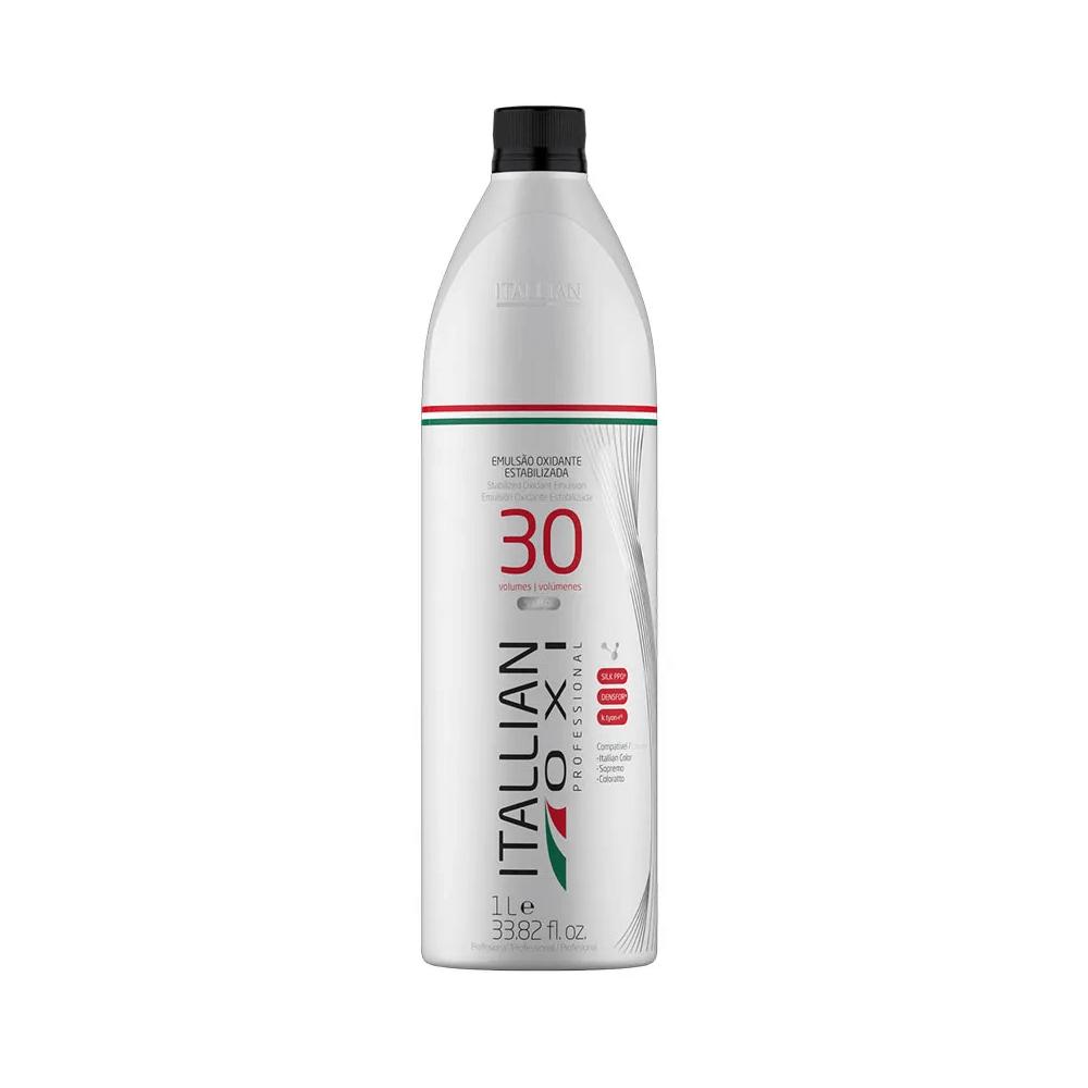 Itallian Água Oxigenada Oxi Professional 30vol / 9% - 1Lt