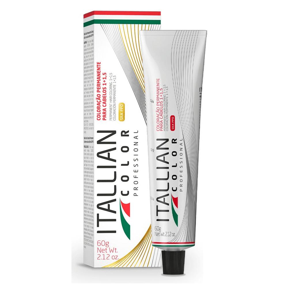 Itallian Color Professional 7.17 Louro Marrom Frio - 60g