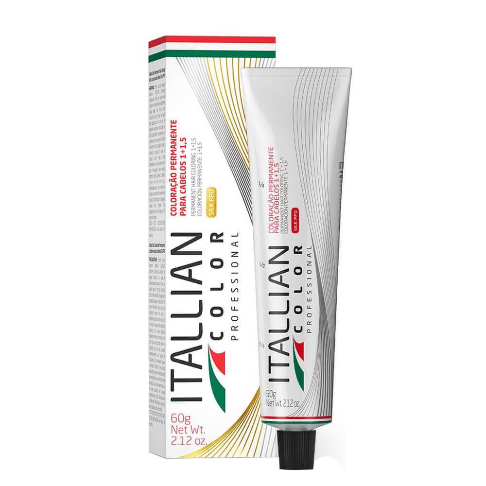 Itallian Color Professional 7.44 Louro Cobre Intenso - 60g