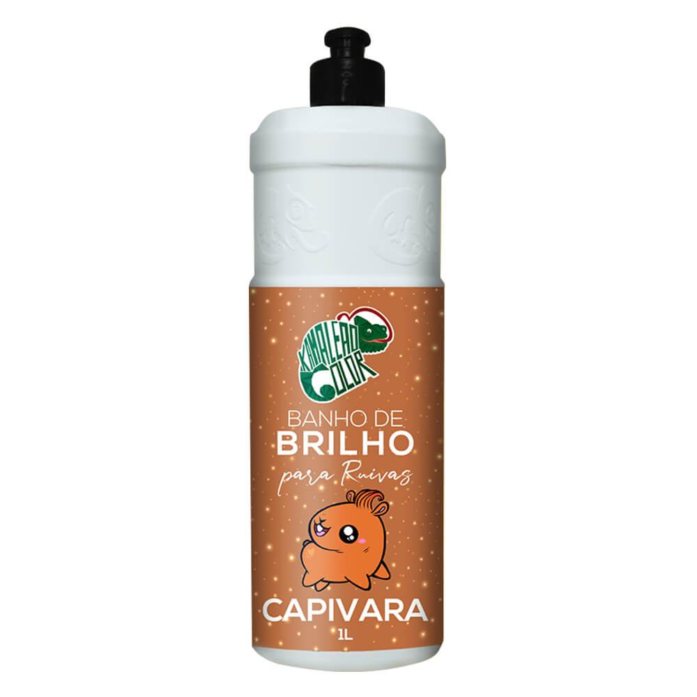 Kamaleão Color Banho de Brilho Capivara - 1L