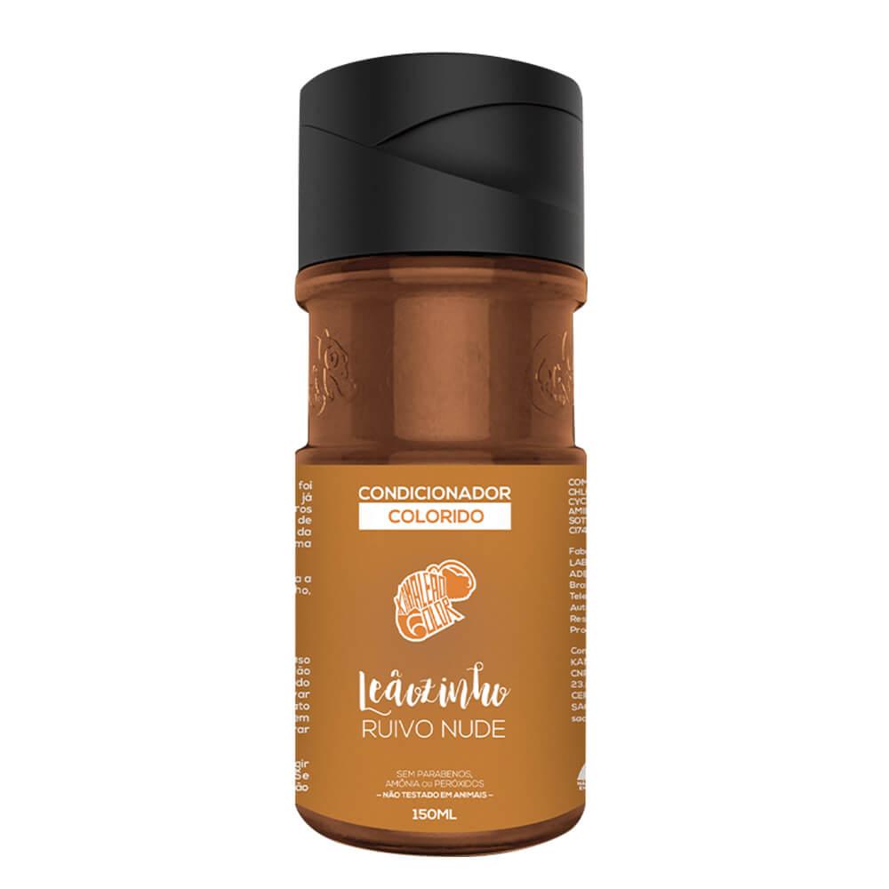 Kamaleão Color Condicionador Colorido Leãozinho Ruivo Nude - 150ml