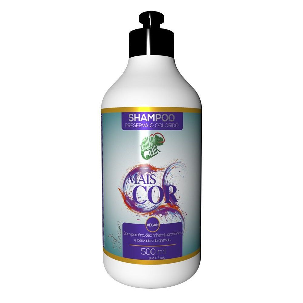 Kamaleão Color Shampoo Mais Cor - 500ml