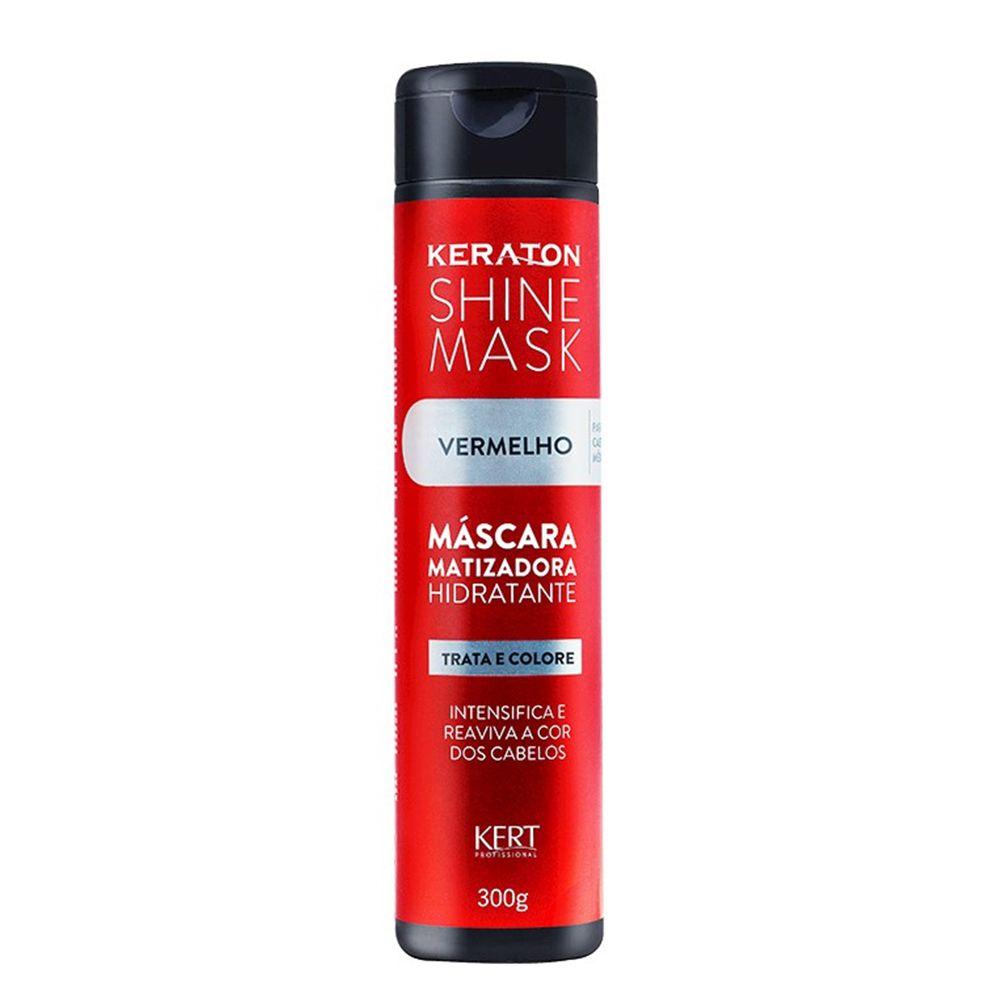 Kert Keraton Máscara Matizadora Shine Mask Vermelho - 300g