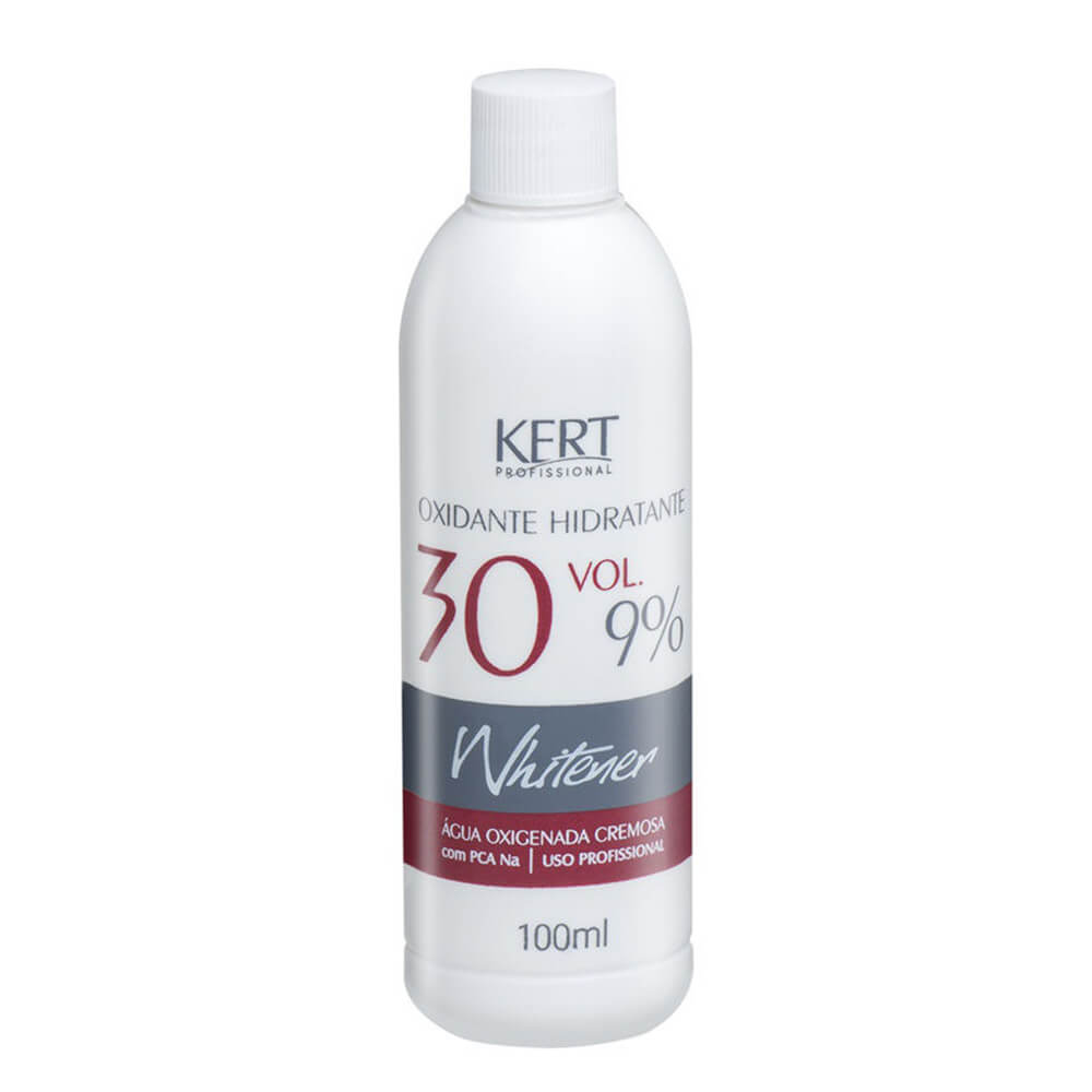 Kert Whitener Água Oxigenada Hidratante 9% 30vol - 100ml