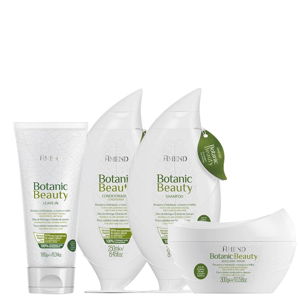 Kit Amend Hidratante Botanic Beauty Completo
