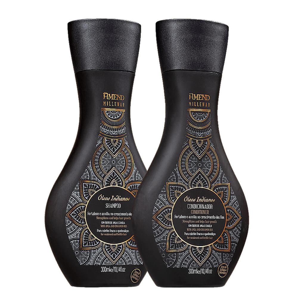 Kit Amend Millenar Óleos Indianos - Shampoo e Condicionador
