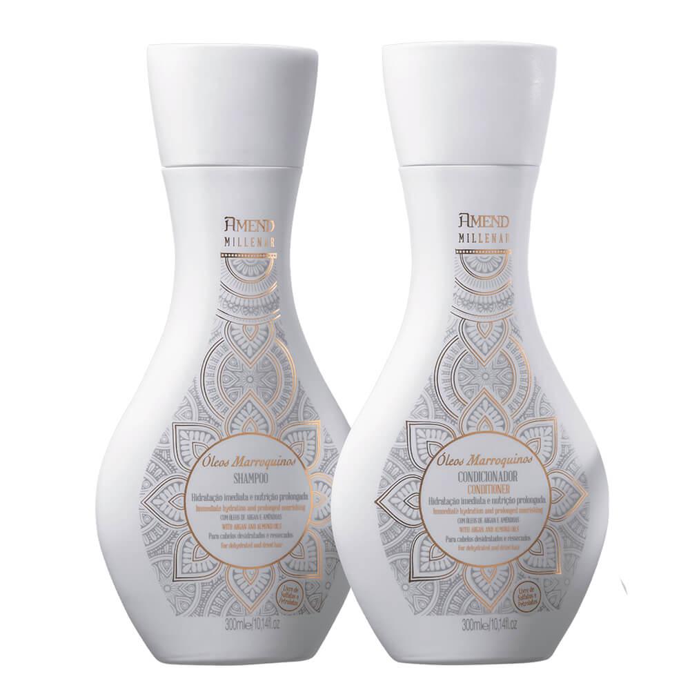Kit Amend Millenar Óleos Marroquinos - Shampoo e Condicionador