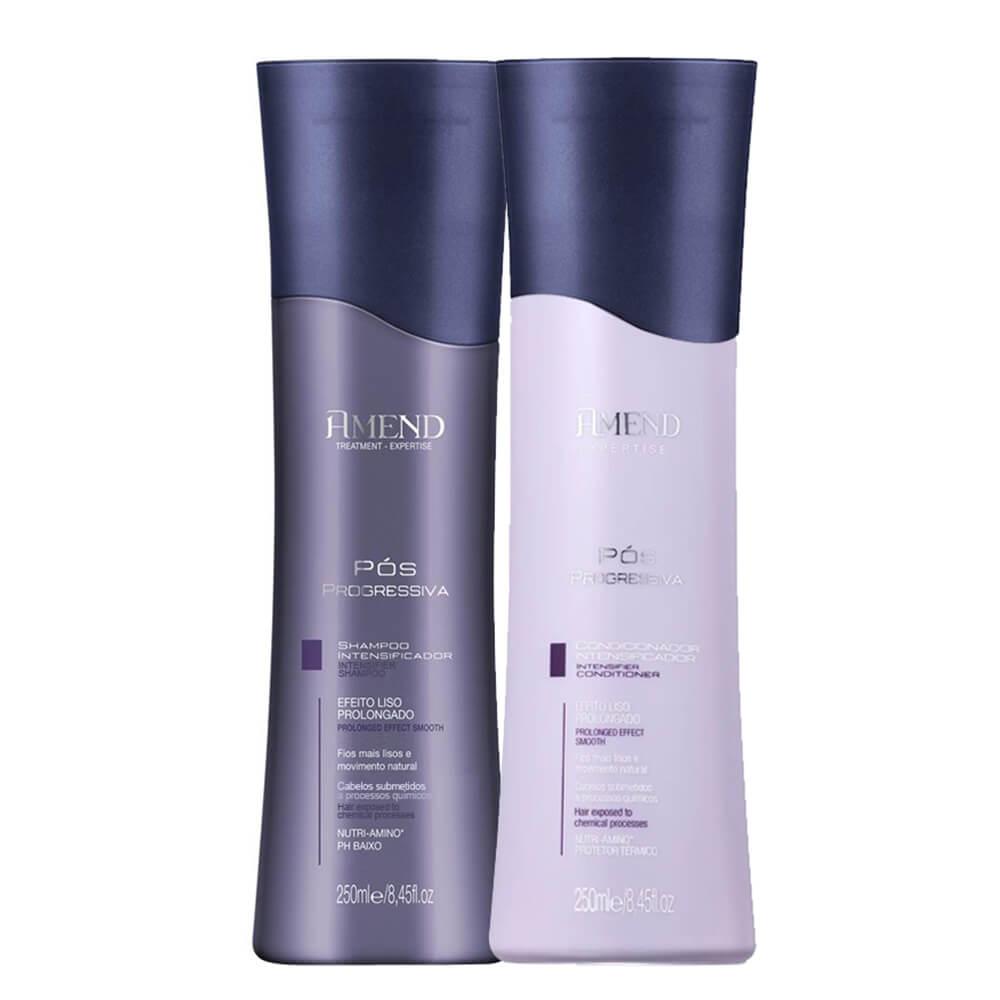 Kit Amend Pós Progressiva - Shampoo e Condicionador