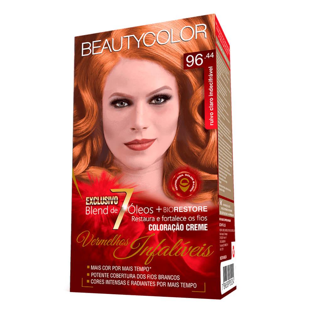 Kit BeautyColor 96.44 - Ruivo Claro Indecifrável