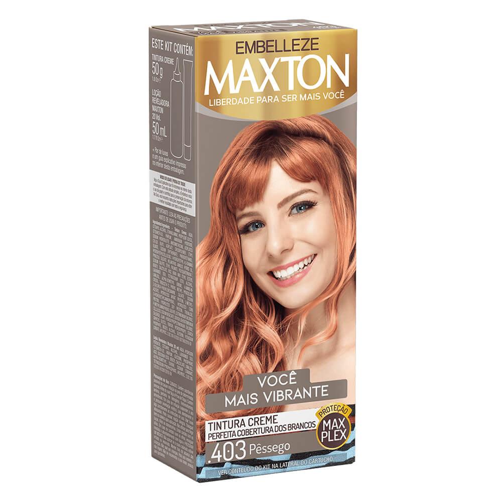 Kit Embelleze Maxton .403 Pêssego Você Mais Vibrante
