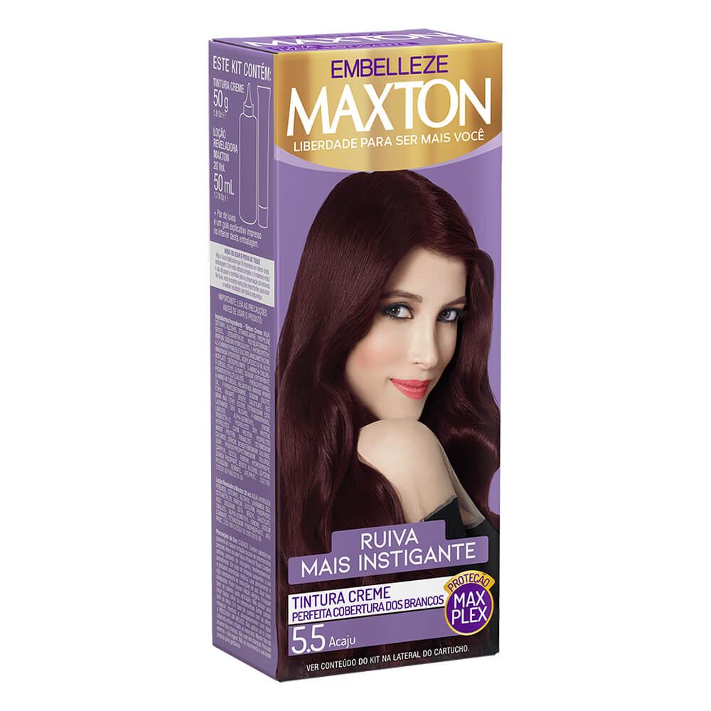 Kit Embelleze Maxton 5.5 Acaju Ruiva Mais Instigante