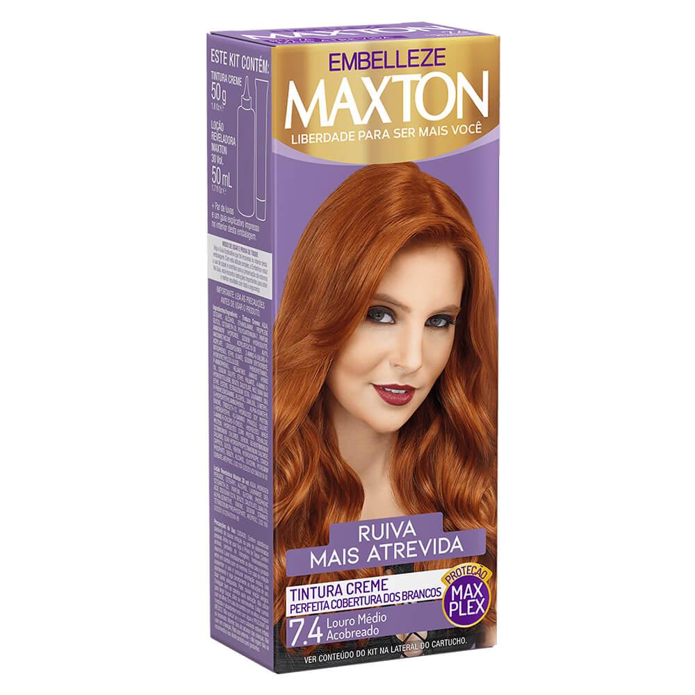 Kit Embelleze Maxton 7.4 Ruiva Mais Atrevida