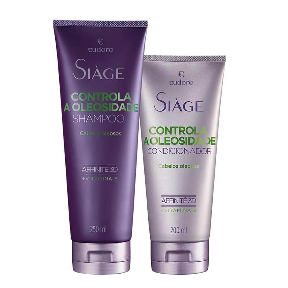Kit Eudora Controla a Oleosidade - Shampoo e Condicionador