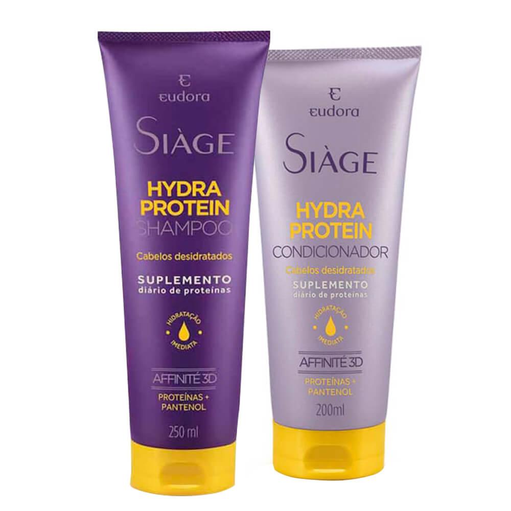 Kit Eudora Hydra Protein - Shampoo e Condicionador