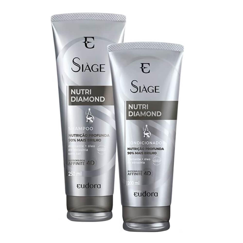 Kit Eudora Nutri Diamond - Shampoo e Condicionador