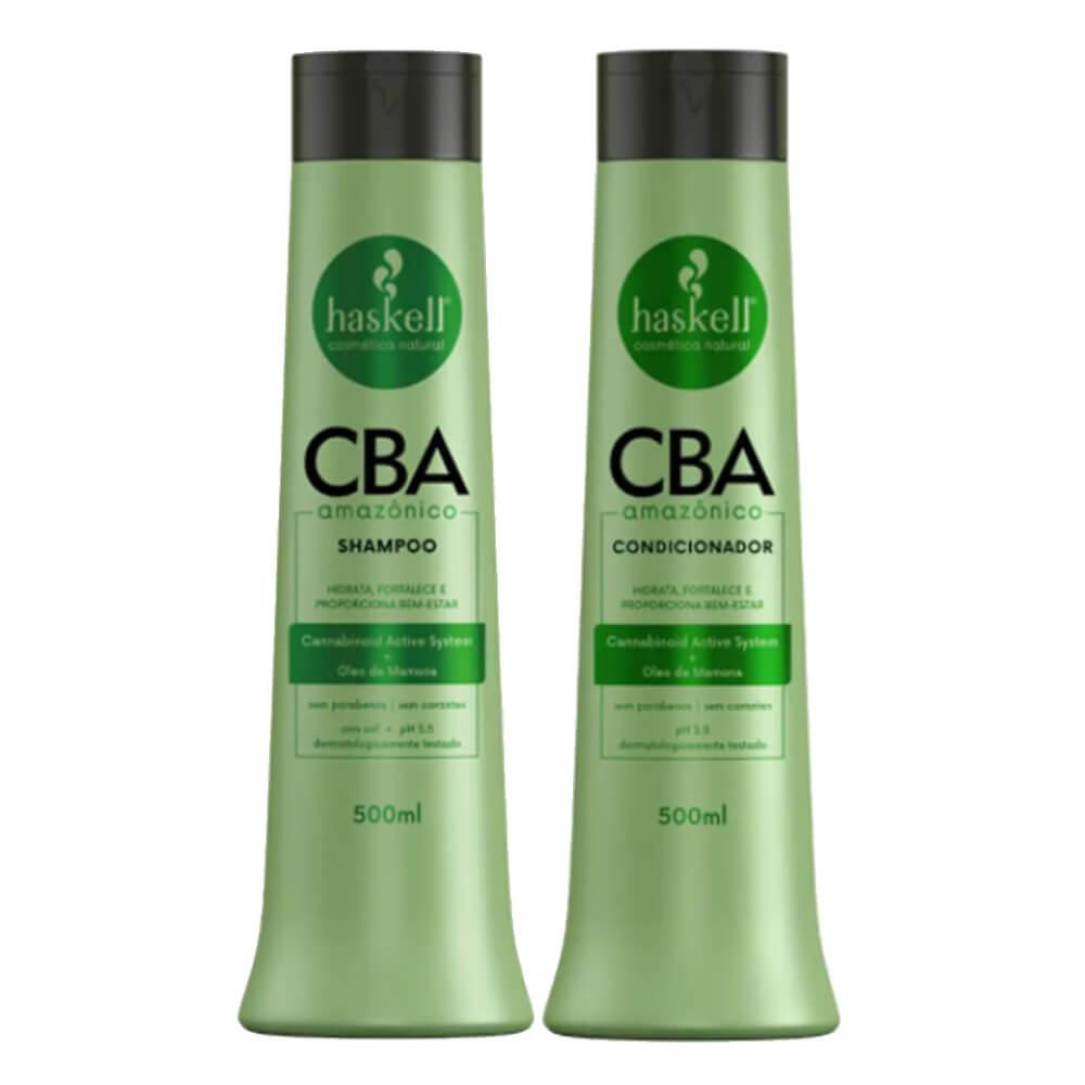 Kit Haskell CBA Amazônico - Shampoo e Condicionador - 500ml