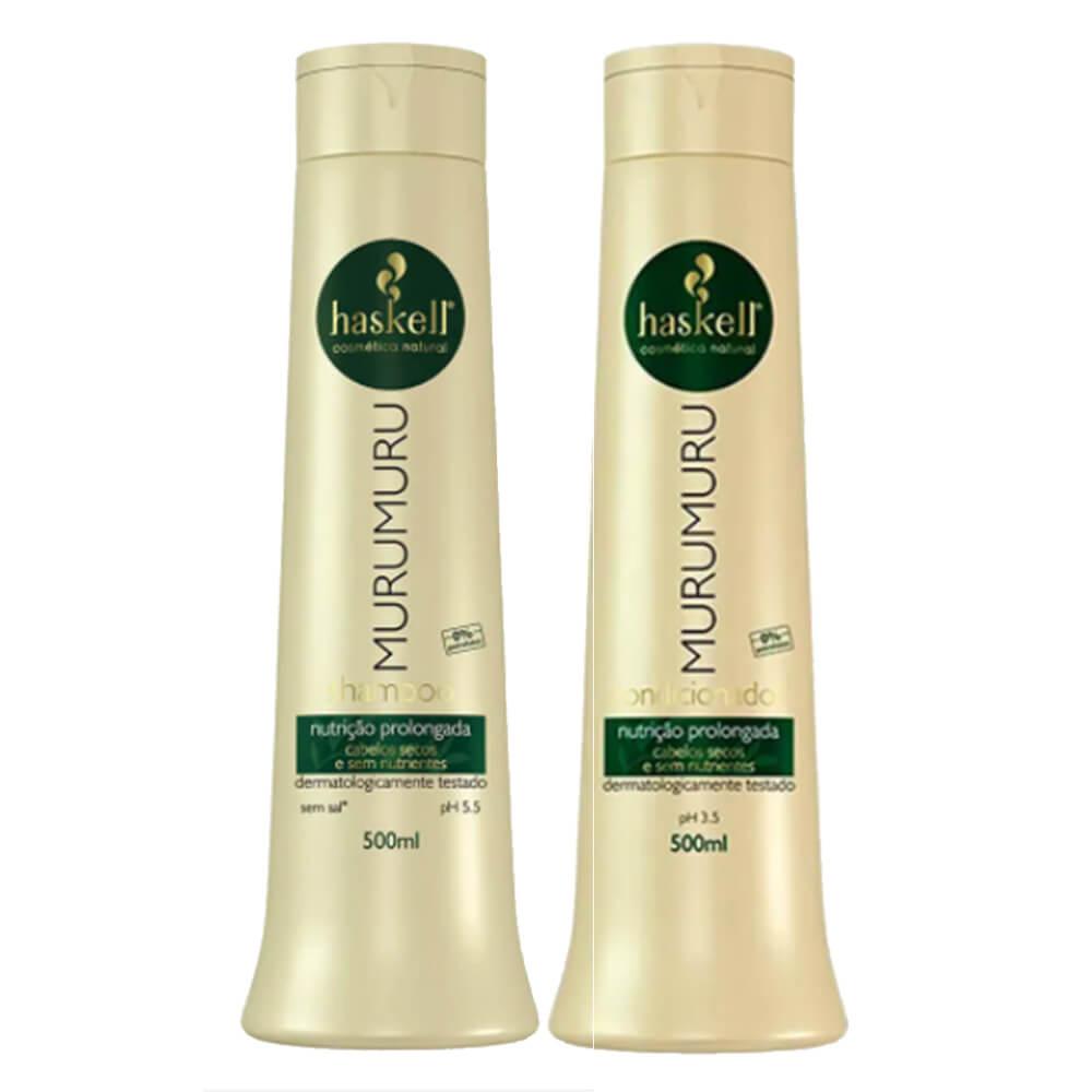 Kit Haskell Murumuru - Shampoo e Condicionador - 500ml