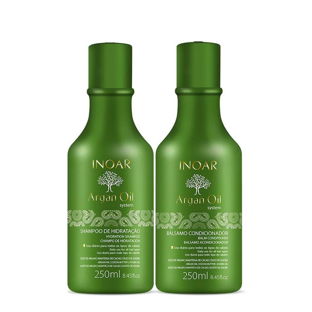 Kit Inoar Duo Argan Oil Hidratação - 250ml