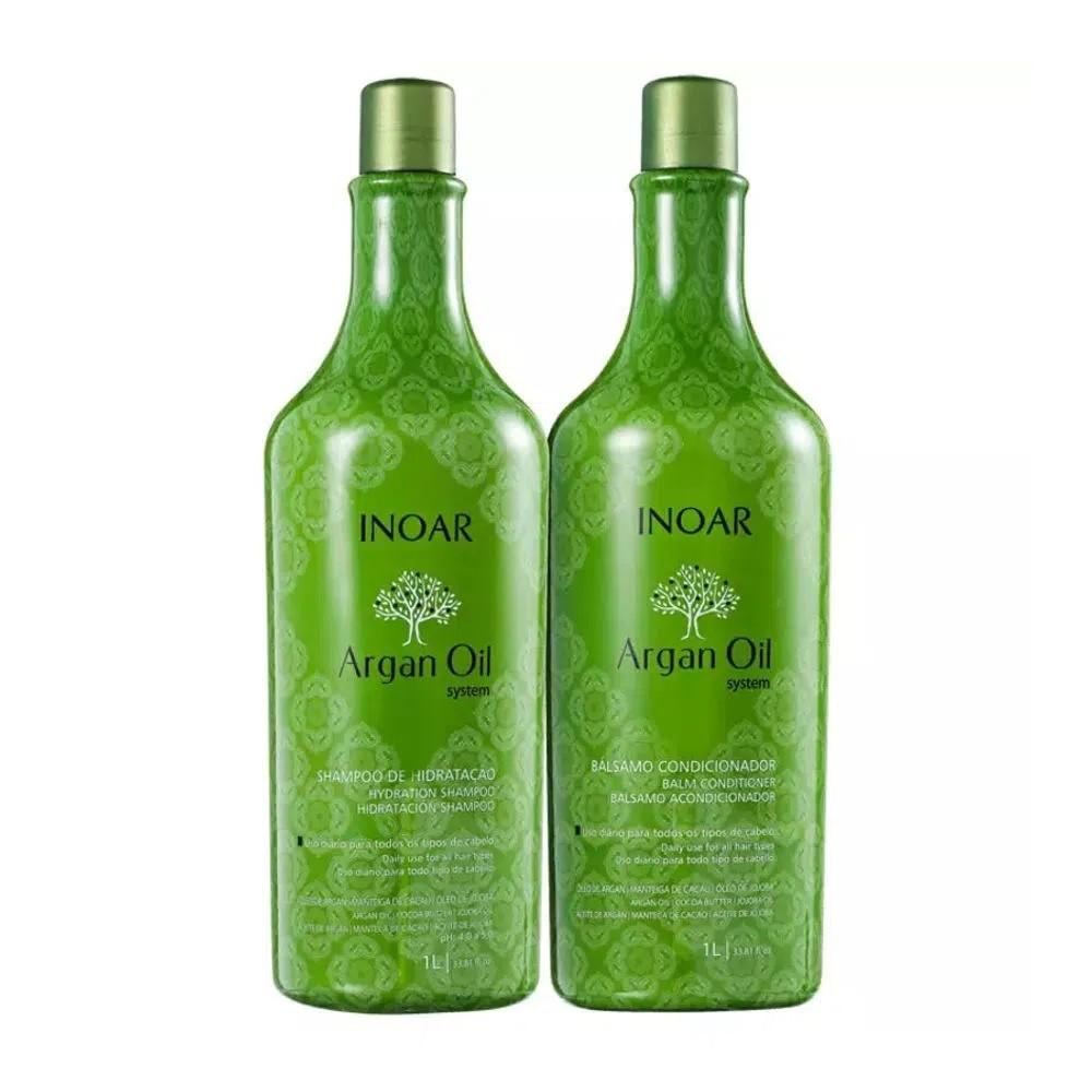 Kit Inoar Duo Argan Oil - Shampoo e Condicionador