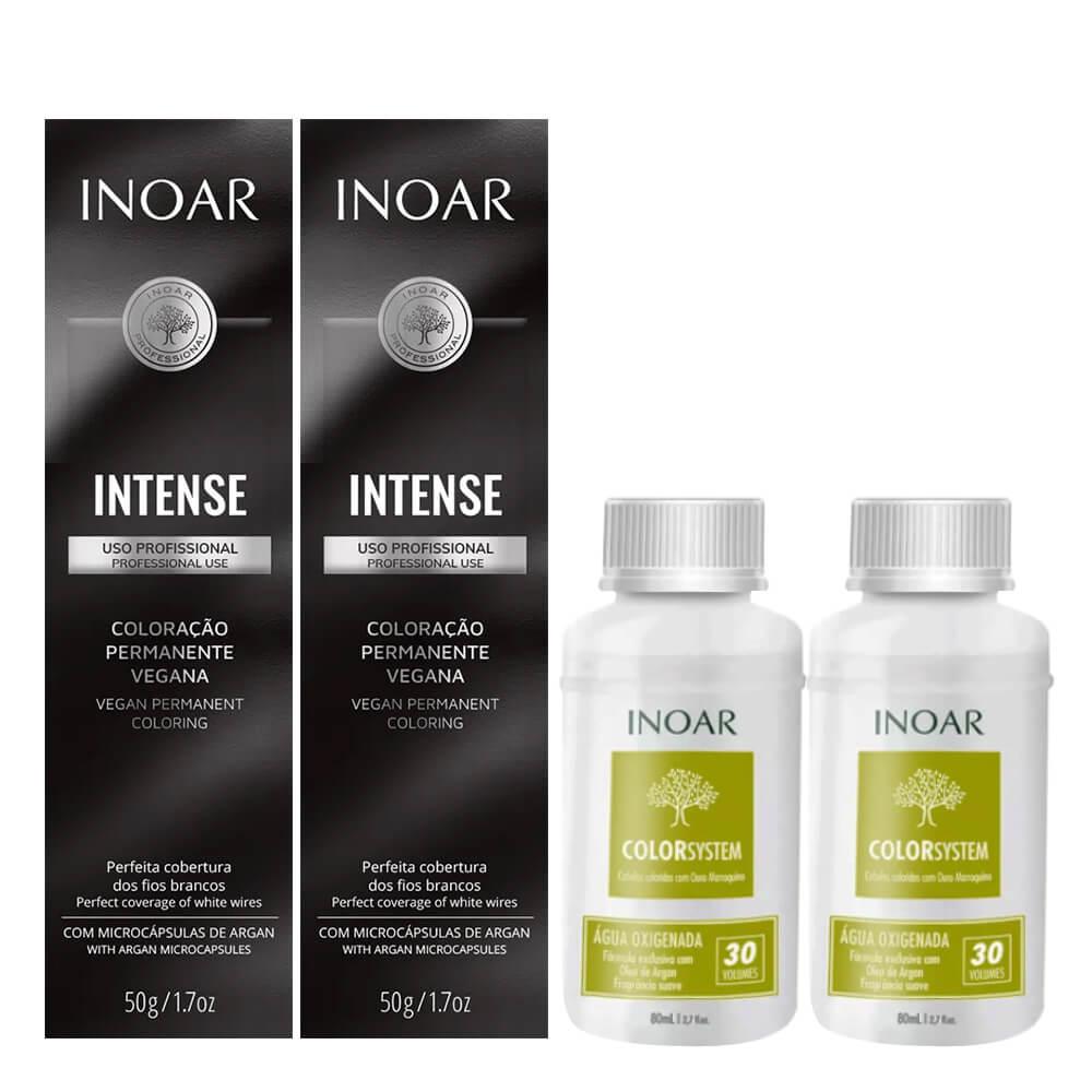 Kit Inoar Intense Vegana - 8.34 e Oxigenada 30vol