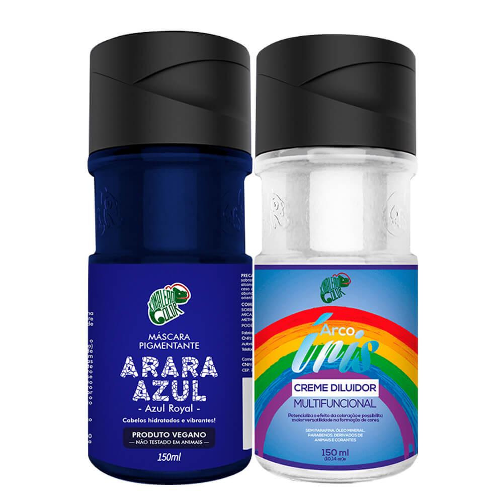 Kit Kamaleão Color - Arara Azul e Diluidor 150ml