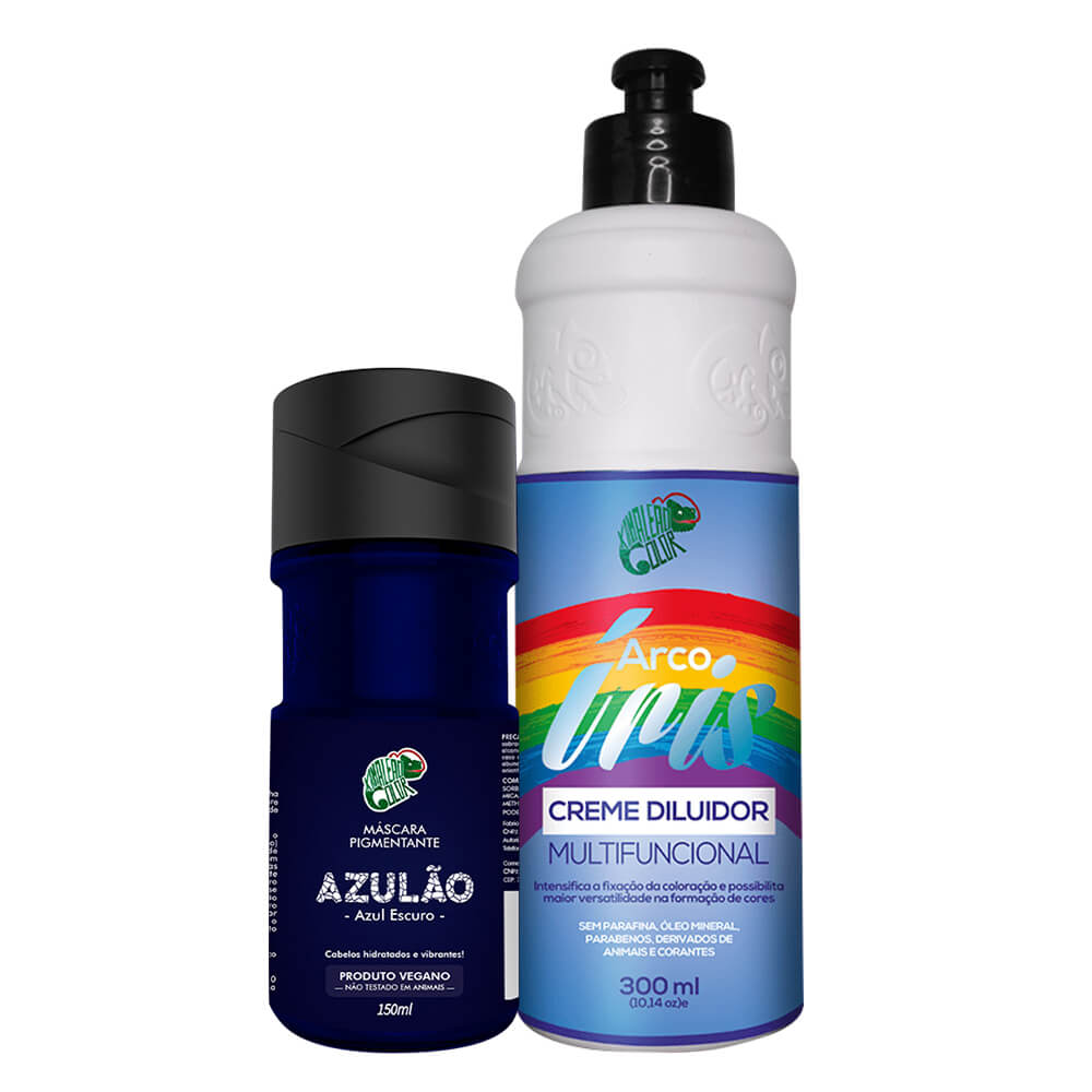 Kit Kamaleão Color - Azulão e Diluidor 300ml