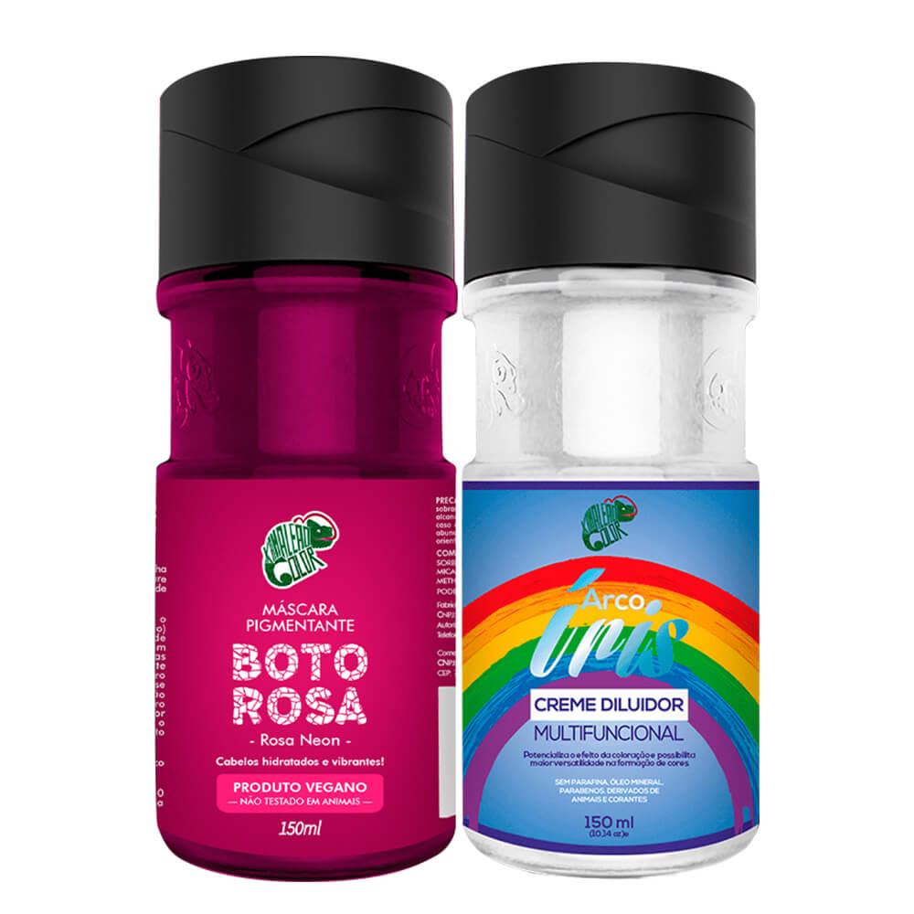 Kit Kamaleão Color - Boto Rosa e Diluidor 150ml