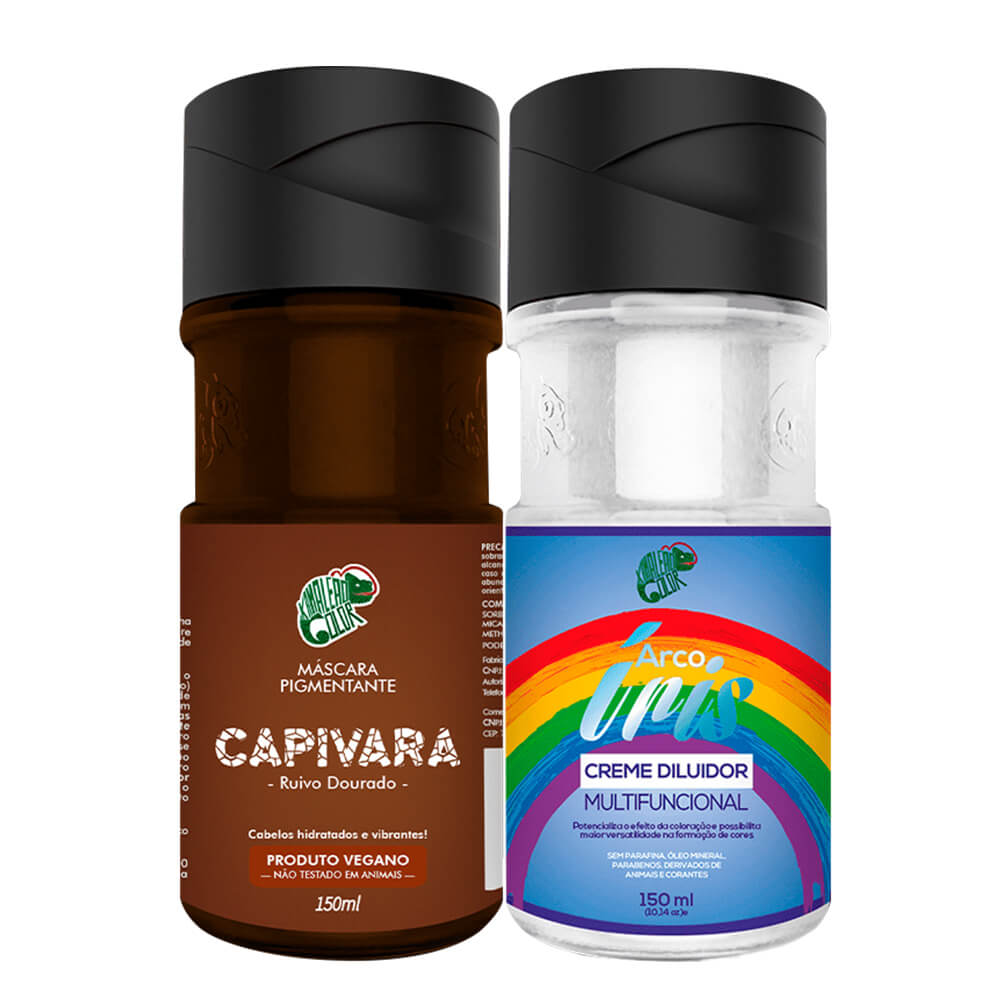Kit Kamaleão Color - Capivara e Diluidor 150ml