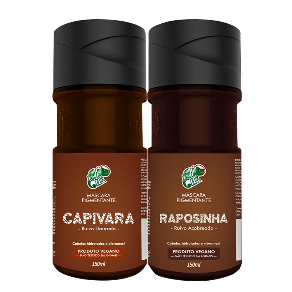 Kit Kamaleão Color - Capivara e Raposinha