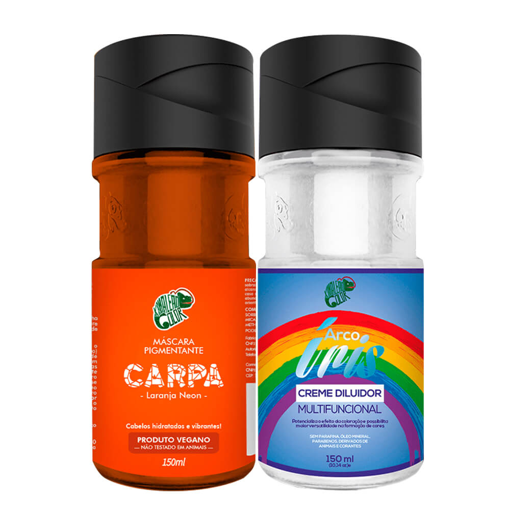 Kit Kamaleão Color - Carpa e Diluidor 150ml
