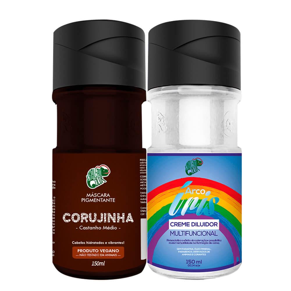 Kit Kamaleão Color - Corujinha e Diluidor 150ml
