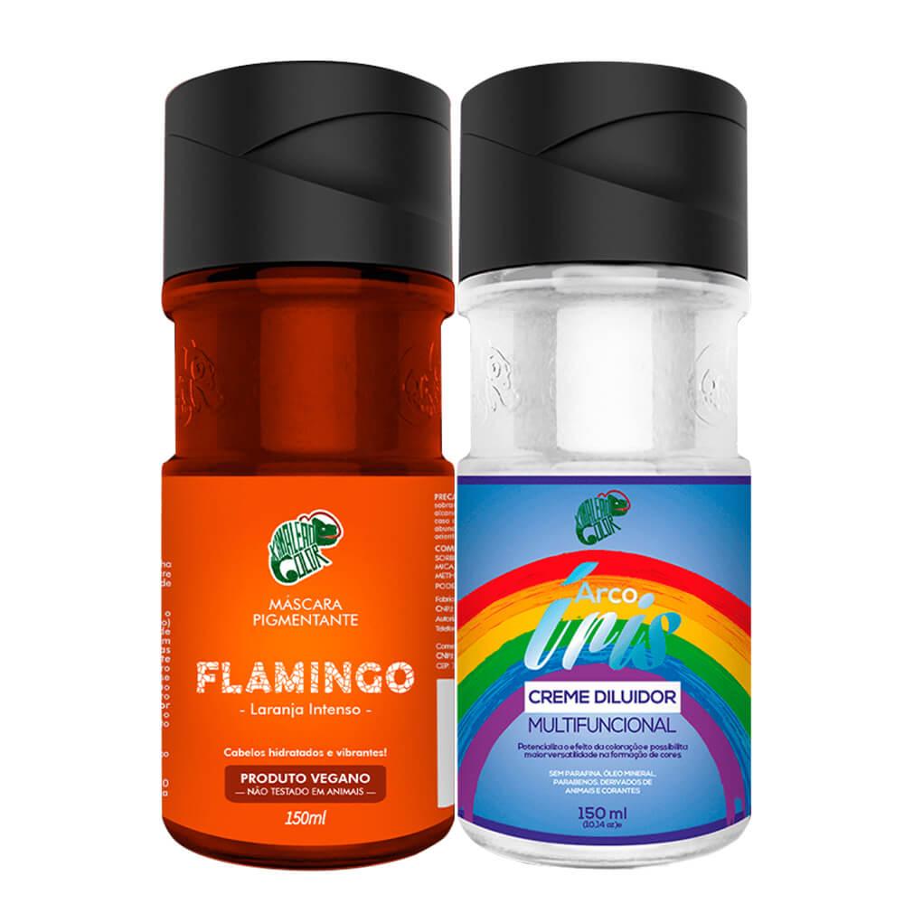Kit Kamaleão Color - Flamingo e Diluidor 150ml