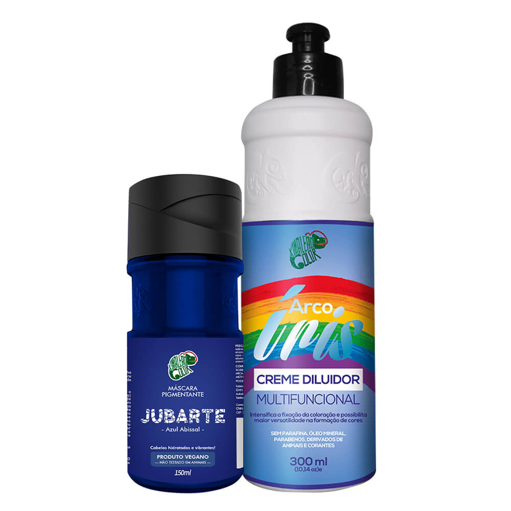 Kit Kamaleão Color - Jubarte e Diluidor 300ml