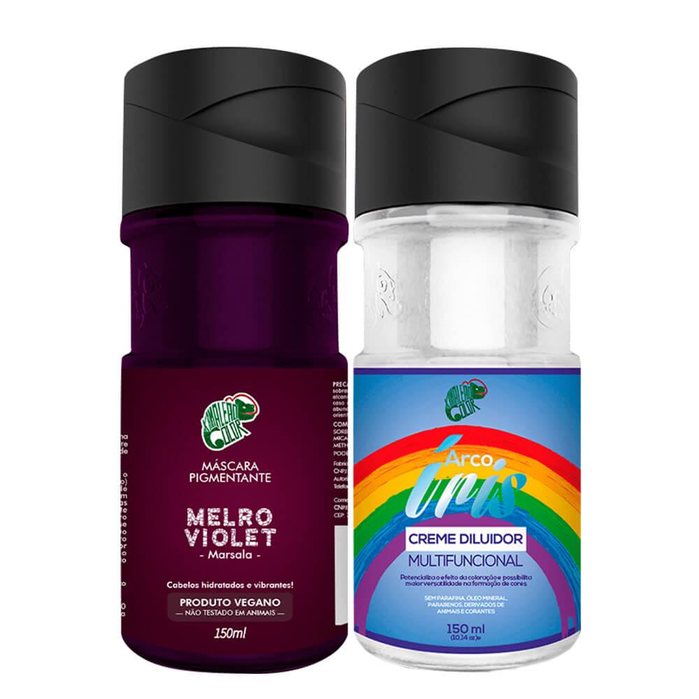 Kit Kamaleão Color - Melro Violet e Diluidor 150ml
