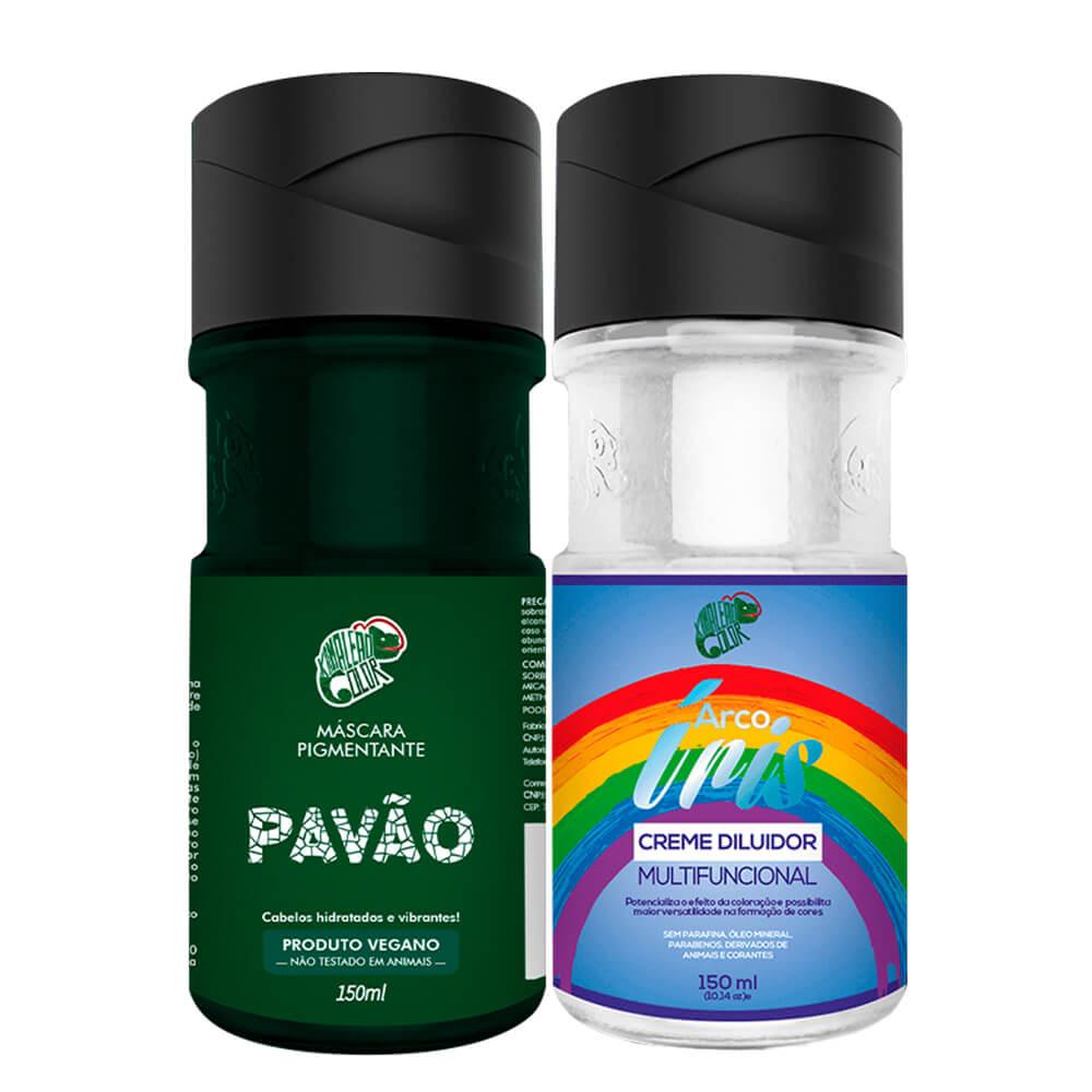 Kit Kamaleão Color - Pavão e Diluidor 150ml