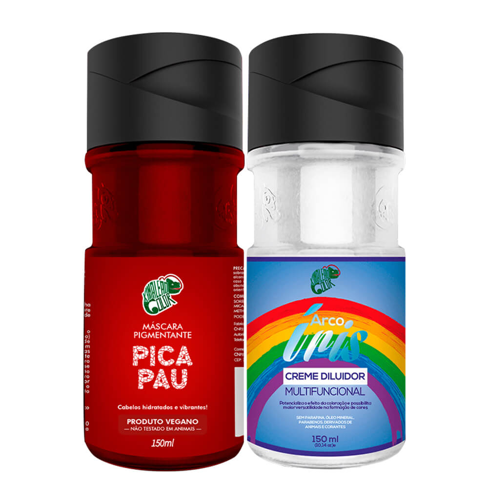 Kit Kamaleão Color - Pica Pau e Diluidor 150ml