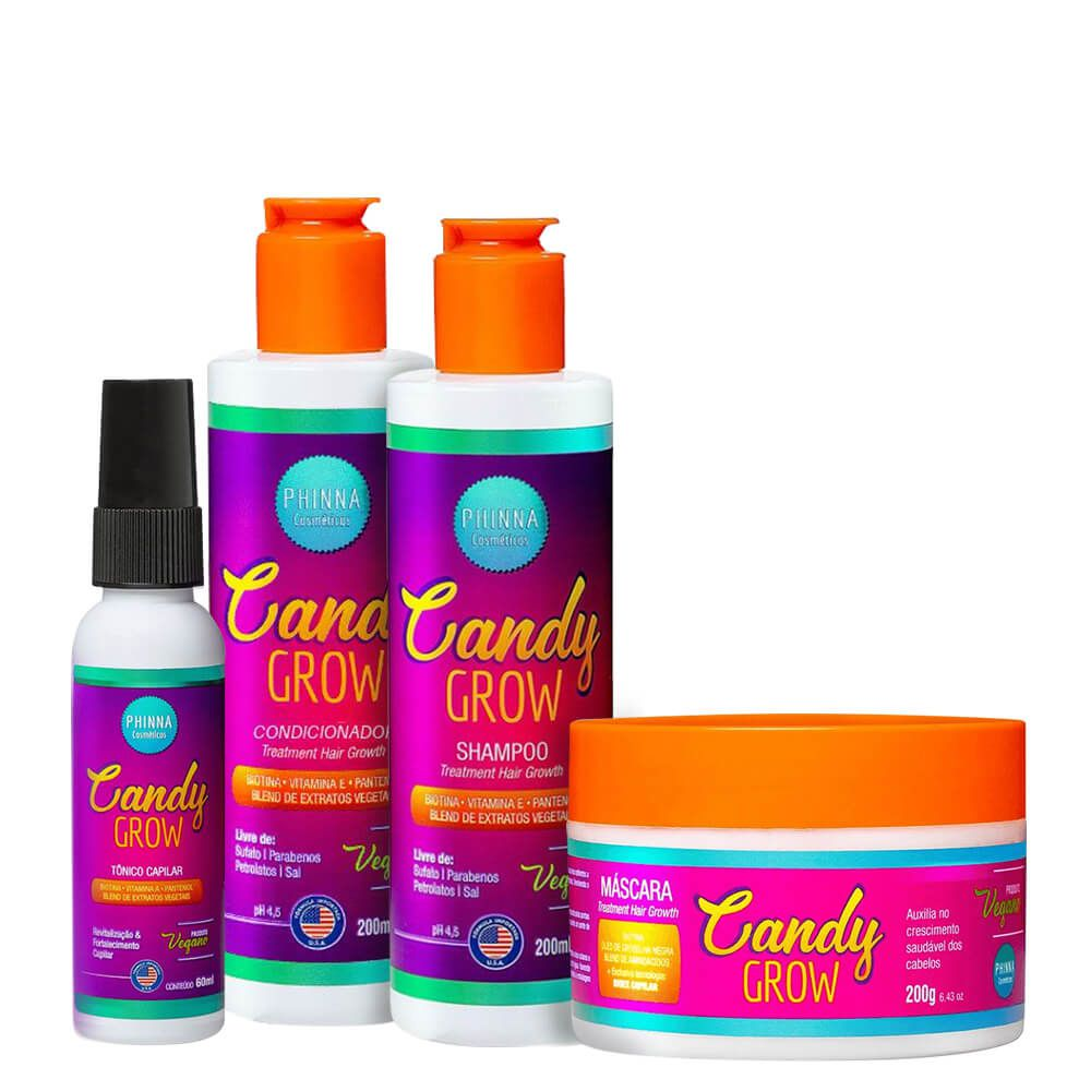 Kit Phinna Candy Grow Completo