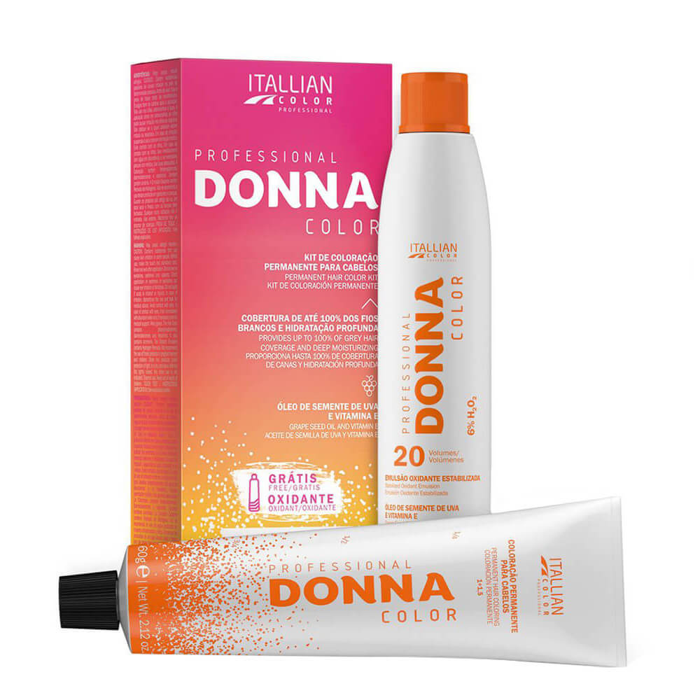 Kit Professional Donna Color 6.26 Marsala